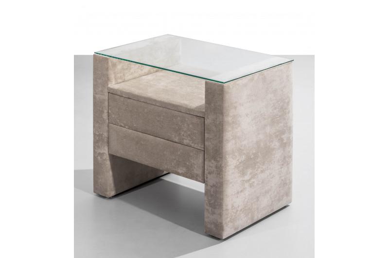 table de chevet tiroirs. Black Bedroom Furniture Sets. Home Design Ideas